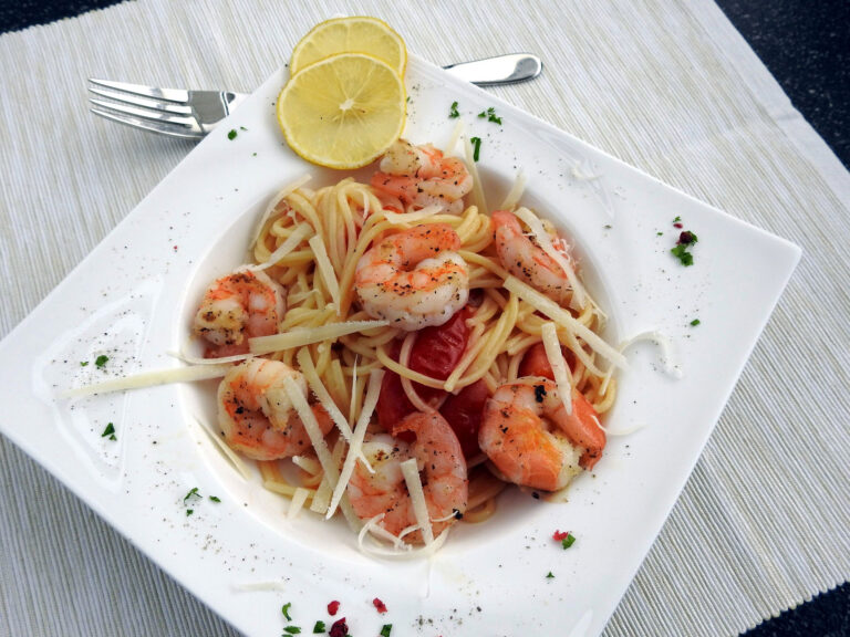 Spaghetti with Shrimps Recipes